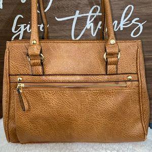 ✅2 for $30 BUENO tan hand bag